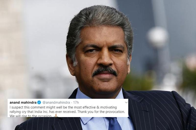 'Thank You For Provocation': Anand Mahindra on China's Threat to Ban Indian Goods