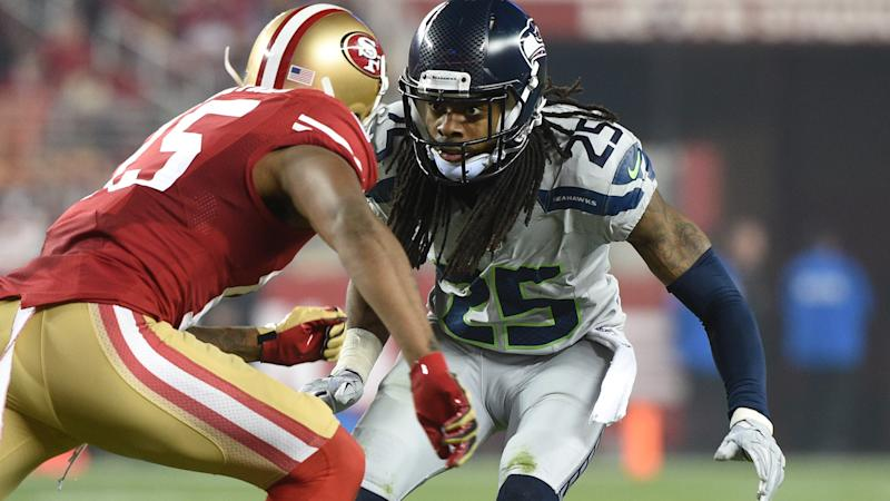 Richard Sherman, Michael Crabtree feud goes way back ... |Richard Sherman Crabtree Meme
