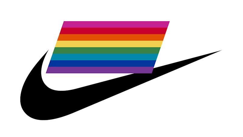 383f0ad28b Nike's New LGBTQ Pride Month Collection Honors the Creator of the Pride Flag