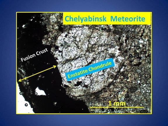 Detailed studies of recovered bits and pieces of the Chelyabinsk superbolide are now underway at the University of Tennessee in Knoxville.