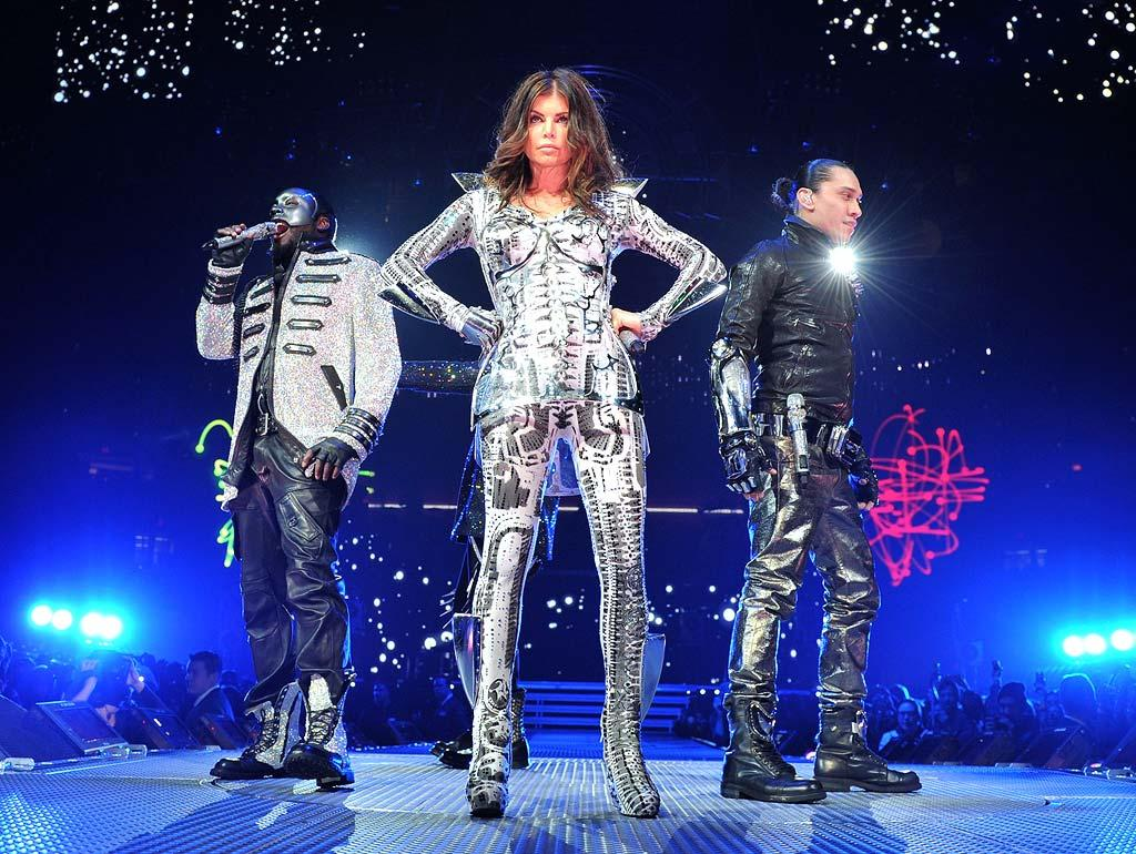 "The Black Eyed Peas got the party started at New York's Madison Square Garden during a stop on the hitmakers' The E.N.D. World Tour. Bryan Bedder/<a href=""http://www.gettyimages.com/"" target=""new"">GettyImages.com</a> - February 24, 2010"