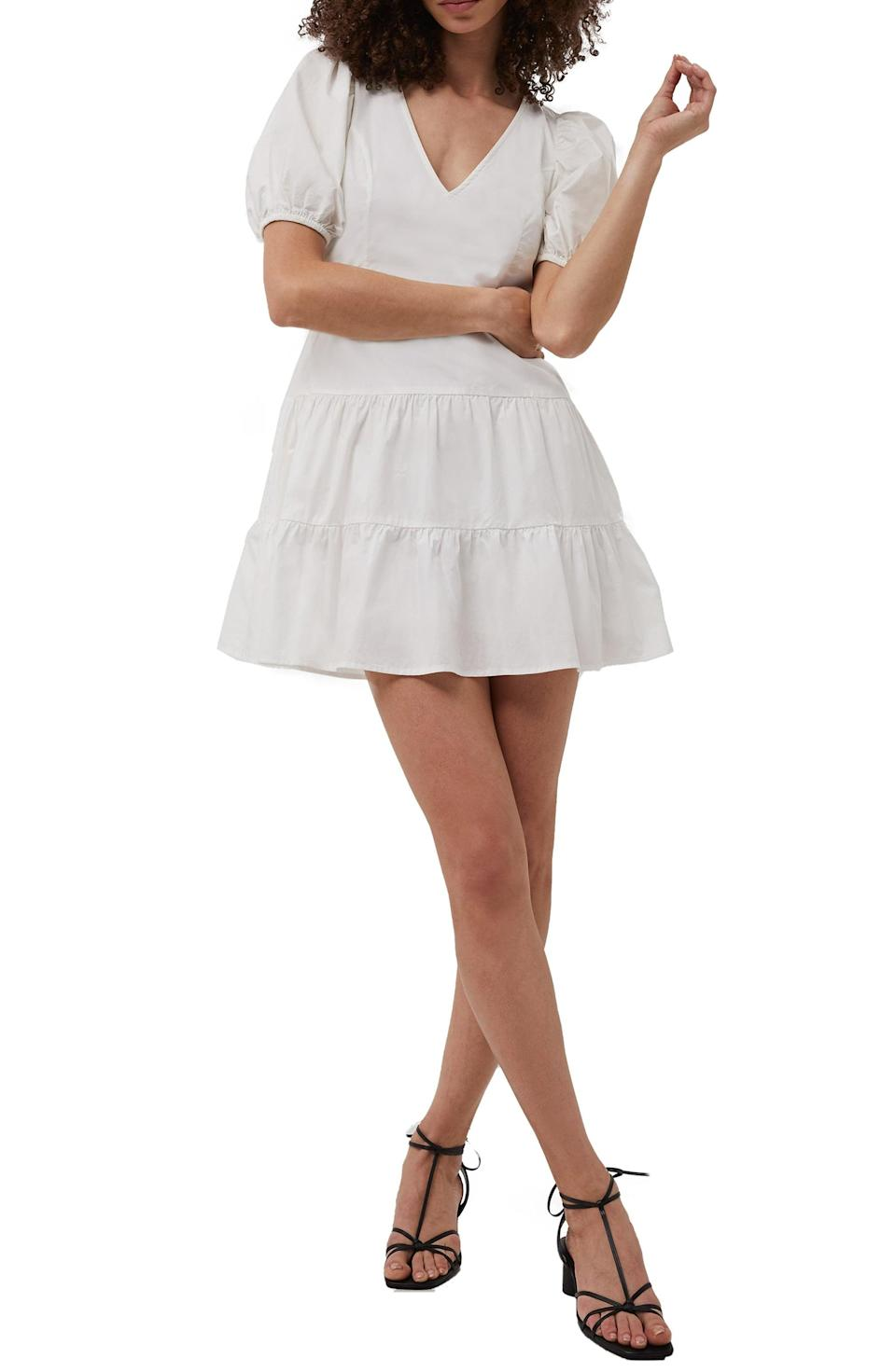 <p>This <span>French Connection Birch Poplin Puff Sleeve Minidress</span> ($78, originally $98) is a fun and playful option that is up for anything.</p>