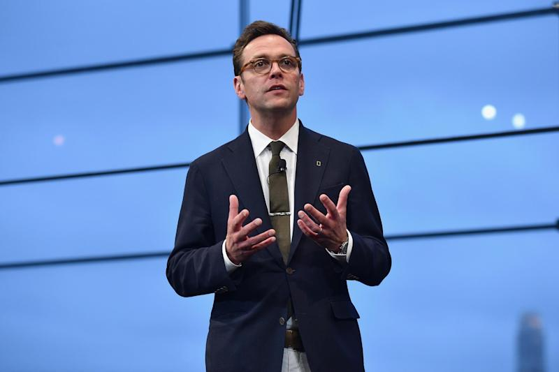 James Murdoch is known to be a supporter of Joe Biden: Getty