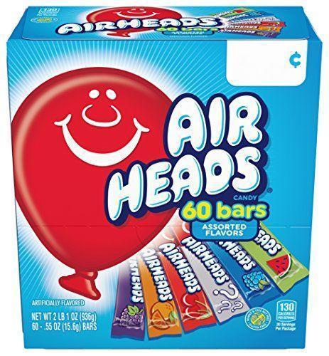 "<p><strong>Airhead</strong></p><p>amazon.com</p><p><strong>$7.98</strong></p><p><a href=""https://www.amazon.com/dp/B0017L4PH0?tag=syn-yahoo-20&ascsubtag=%5Bartid%7C10049.g.32878626%5Bsrc%7Cyahoo-us"" rel=""nofollow noopener"" target=""_blank"" data-ylk=""slk:Shop Now"" class=""link rapid-noclick-resp"">Shop Now</a></p><p>OK, these aren't necessarily ""scary,"" but they are good. Plus they remind me of my childhood, which is exactly what Halloween is all about. Right?</p>"