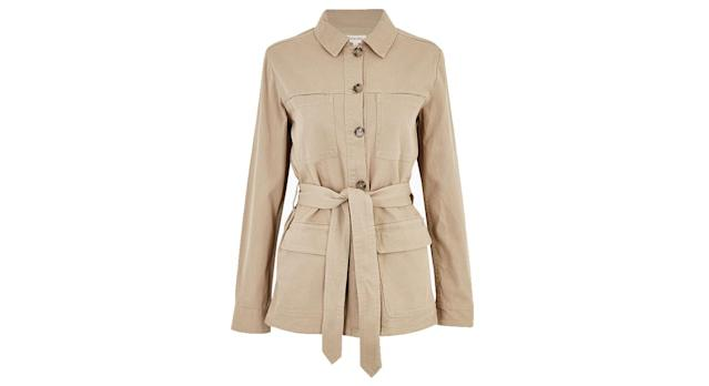 Per Una Cotton Belted Utility Jacket