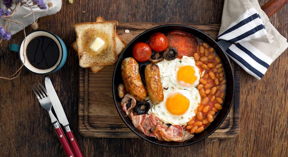 Make breakfast easy with this clever all-in-one gadget. (Getty)