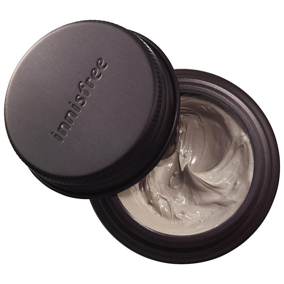 """<p><strong>innisfree</strong></p><p>sephora.com</p><p><strong>$15.00</strong></p><p><a href=""""https://go.redirectingat.com?id=74968X1596630&url=https%3A%2F%2Fwww.sephora.com%2Fproduct%2Fsuper-volcanic-clusters-pore-clearing-clay-mask-P449853&sref=https%3A%2F%2Fwww.oprahmag.com%2Flife%2Frelationships-love%2Fg26825396%2Fgifts-for-dad%2F"""" rel=""""nofollow noopener"""" target=""""_blank"""" data-ylk=""""slk:Shop Now"""" class=""""link rapid-noclick-resp"""">Shop Now</a></p><p>Innisfree's pore clearing clay mask is perfect for dad to pamper himself post workout.</p>"""
