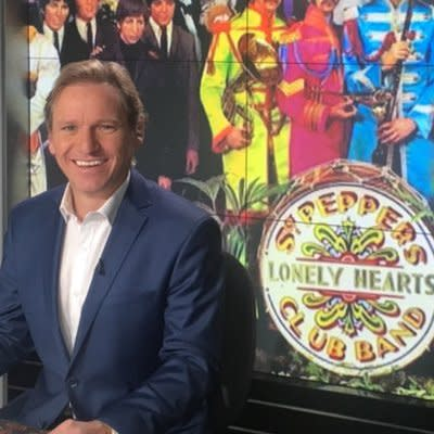 ABC News political journalist Andrew Probyn as seen in his Twitter profile photo