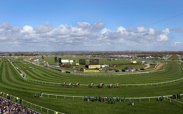<span>Inner city (ish): Aintree is part of its city not stuck way out in the country</span> <span>Credit: Getty </span>