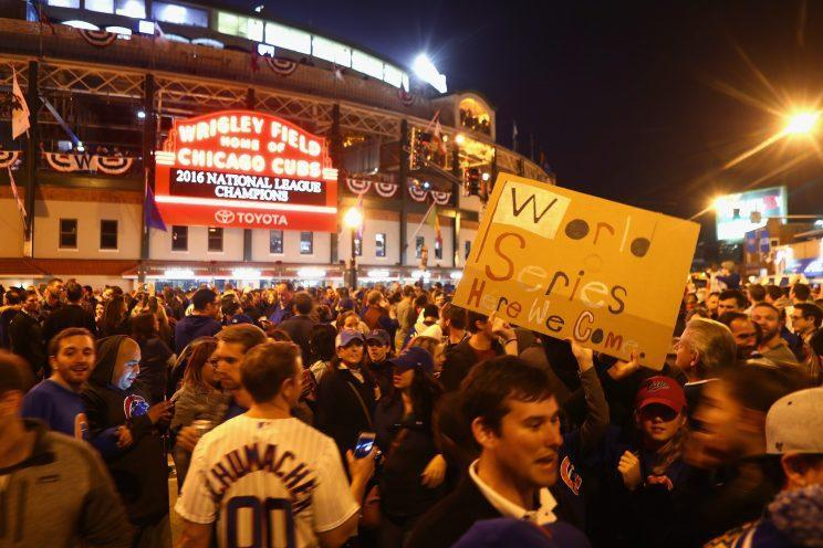 Getting tickets to a World Series game at Wrigley Field is going to cost you. (Getty Images/Dylan Buell)