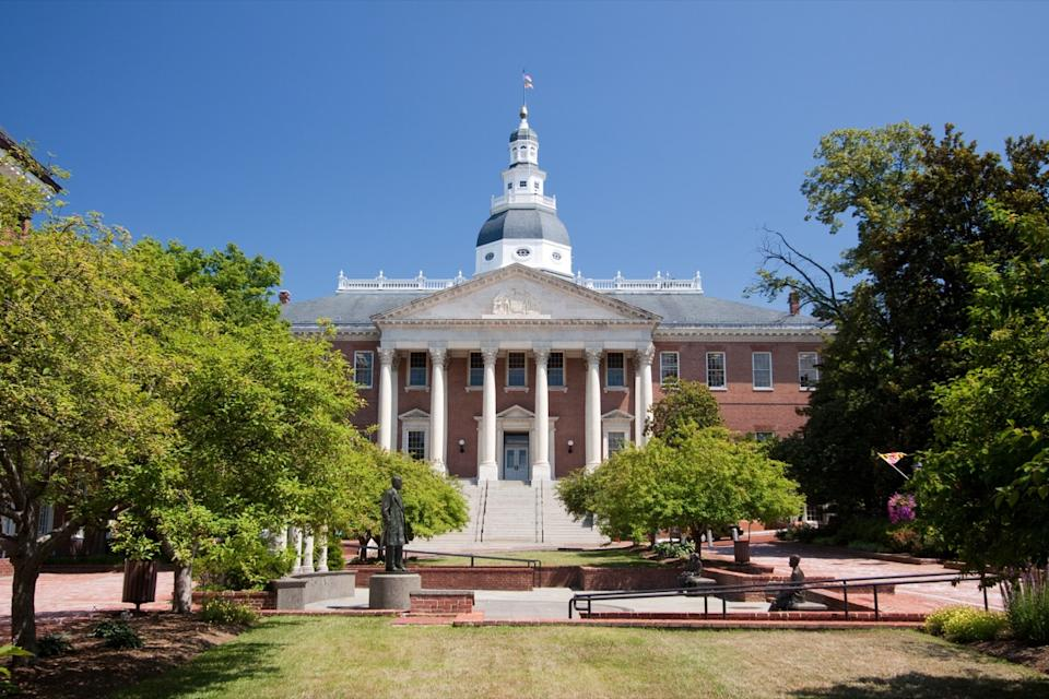 maryland state capitol buildings