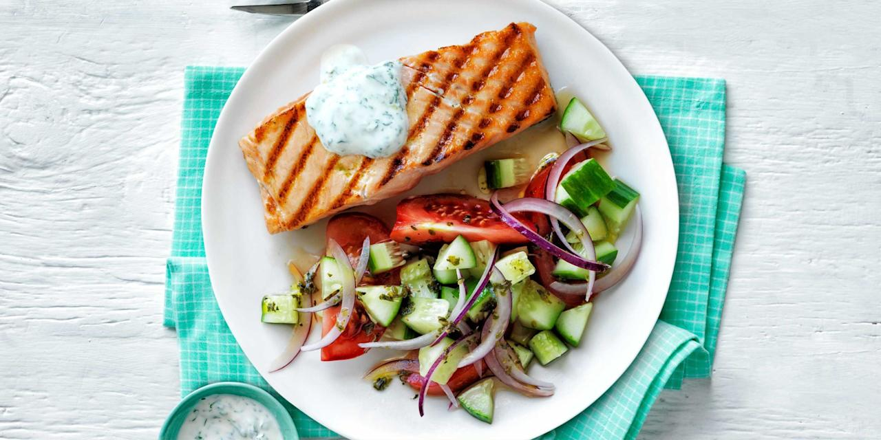 <p>Prepare a healthy family meal featuring versatile fish fillets, shrimp, salmon, tuna, and more.</p>