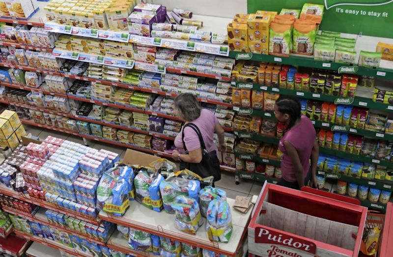 Supermercado en Beirut. (Getty Images)