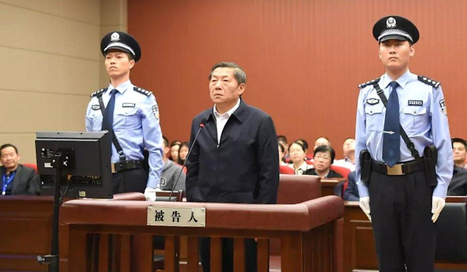 China's former cybersecurity tsar Lu Wei is serving a 14-year jail sentence. Photo: Handout