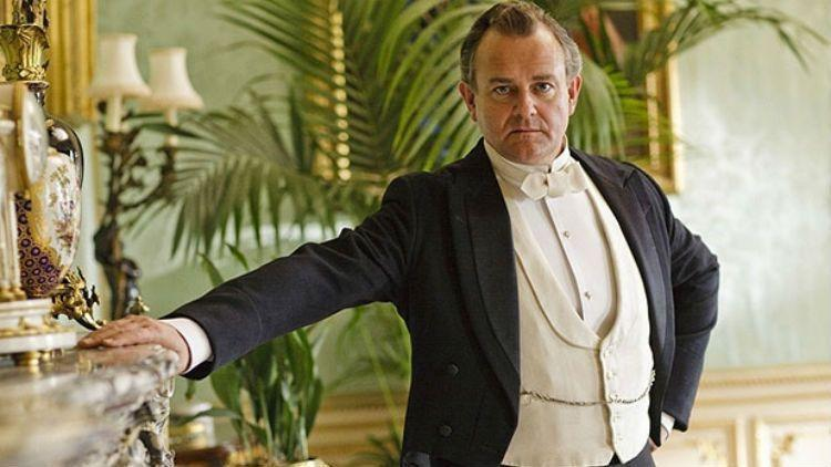 """<p>""""Stiff collars are a pain the neck, quite literally,"""" Hugh Bonneville explained in <em><a href=""""https://books.google.com/books?id=TJyg0RN-ue8C&pg=PA310&lpg=PA310&dq=%E2%80%9CBut+they+affect+your+bearing+and+make+you+stand+in+the+right+way.%E2%80%9D&source=bl&ots=i8ft9faIpc&sig=NyoI6EyXiCm_MldqJj80Mc6HijY&hl=en&sa=X&ved=0ahUKEwigxOPq7KDYAhXERiYKHaPGAbEQ6AEIKTAA#v=onepage&q=%E2%80%9CBut%20they%20affect%20your%20bearing%20and%20make%20you%20stand%20in%20the%20right%20way.%E2%80%9D&f=false"""" rel=""""nofollow noopener"""" target=""""_blank"""" data-ylk=""""slk:The Chronicles of Downton Abbey: A New Era"""" class=""""link rapid-noclick-resp"""">The Chronicles of Downton Abbey: A New Era</a></em>. """"But they affect your bearing and make you stand in the right way.""""<br></p>"""
