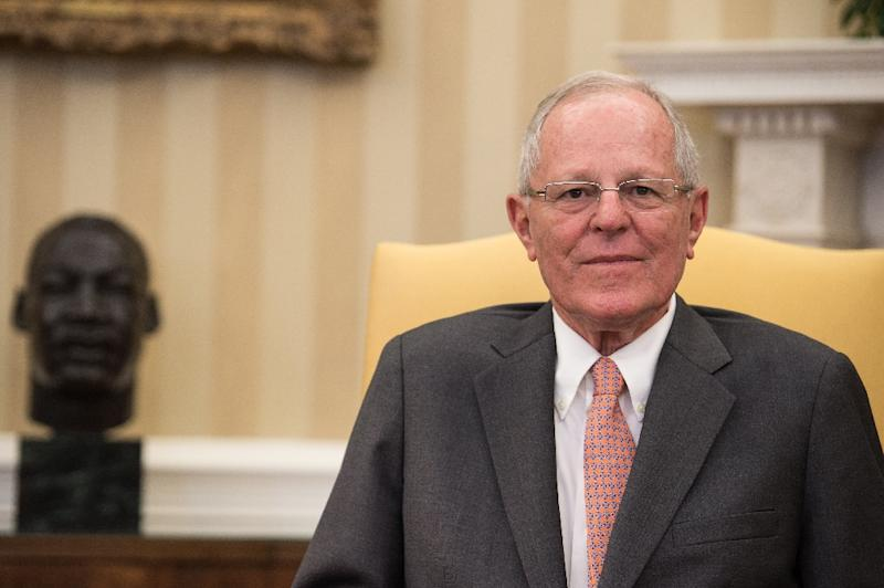 Peruvian President Pedro Pablo Kuczynski has denied taking bribes from construction firm Odebrecht