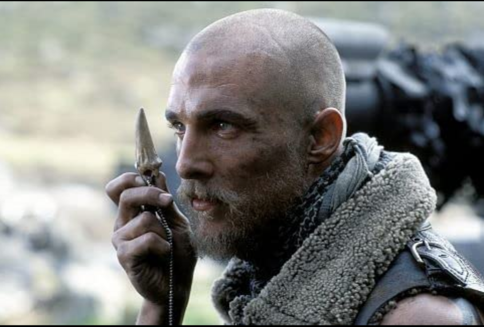 <p>After starring in a string of romantic comedies, Matthew McConaughey decided to do something that would shock fans. The actor shaved off his blonde curls for the 2002 film <em>Reign of Fire</em>. </p>