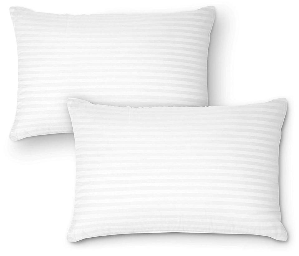 <p>Why have one cooling pillow when you could have two <span>DreamNorth Premium Gel Pillows</span> ($31, originally $35)?</p>