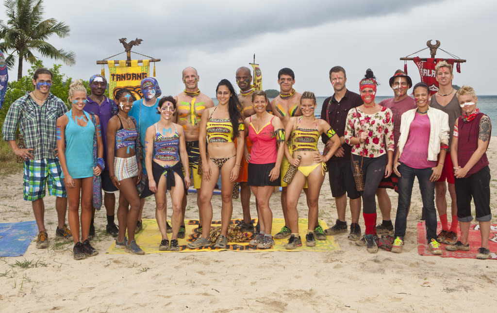 "The cast of ""Survivor: Philippines."""