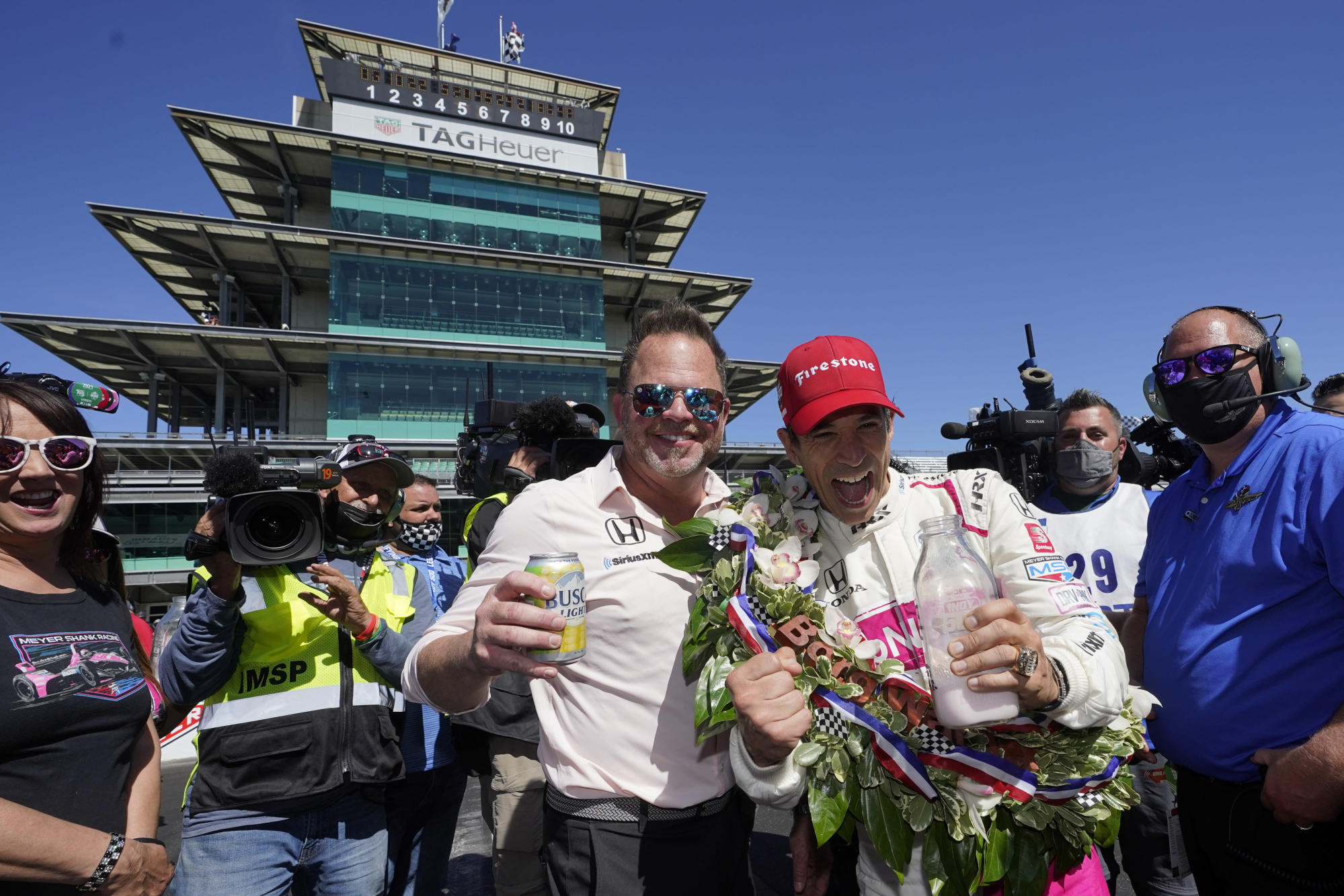 Team owner Shank takes slow road to Indy 500 winners circle