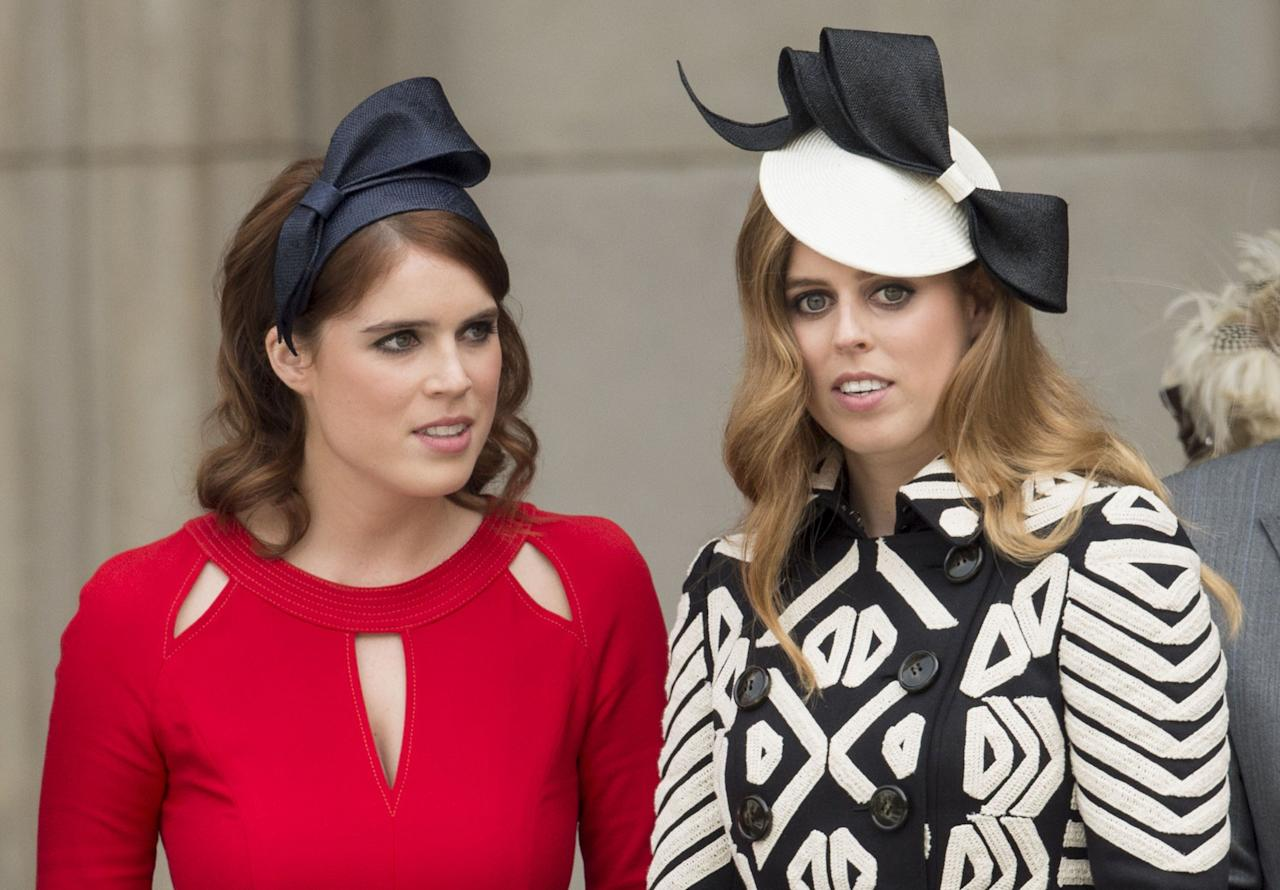 "<p>If there's one thing we know about <a rel=""nofollow"" href=""https://www.goodhousekeeping.com/beauty/fashion/g20106573/princess-eugenie-style/"">Princess Eugenie</a> and <a rel=""nofollow"" href=""https://www.goodhousekeeping.com/beauty/fashion/g22573863/princess-beatrice-style/"">Princess Beatrice</a>, it's that these sisters are rarely seen without a hat. We're taking it all the way back to 1992, and sharing some of their <a rel=""nofollow"" href=""https://www.goodhousekeeping.com/life/a22626563/princess-eugenie-beatrice-kate-middleton-hat-wedding/"">most memorable hats</a>, fascinators, and even a couple baseball caps. </p>"