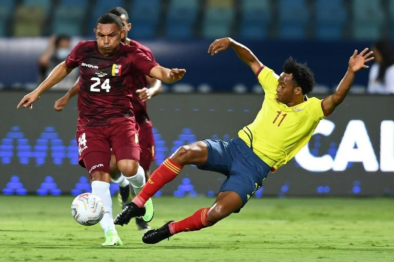 Venezuela's draw with Colombia was a full-blooded and niggly affair full of tasty challenges