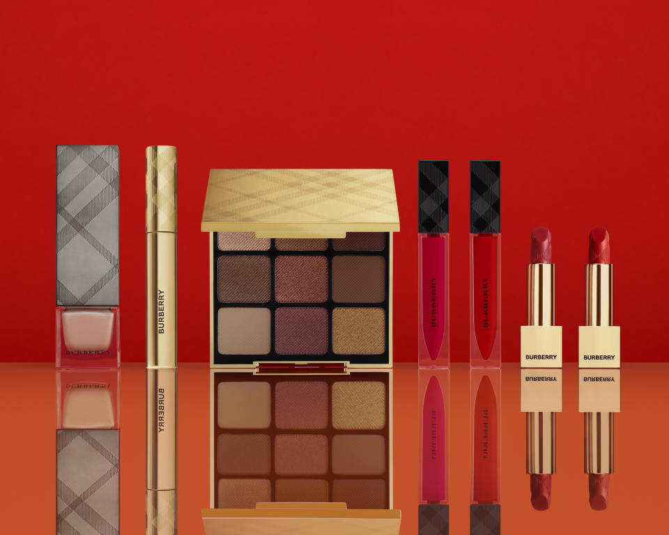 Burberry Colour Clash collection. (PHOTO: Burberry)