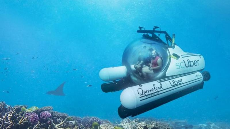 Uber launches 'scUber' in Australia: World's first submarine ride sharing service