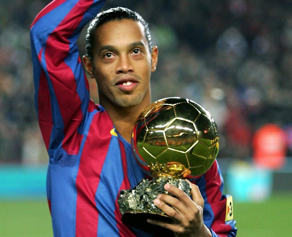 Ronaldinho, who is a former Barcelona player, have two FIFA World Player of the Year awards to his name.