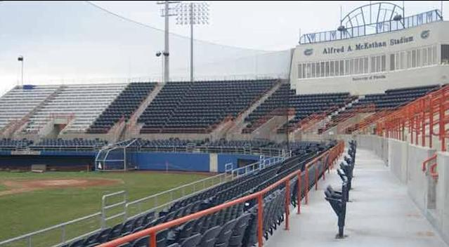 Florida's Alfred A. McKethan Stadium was the site of some controversy on Tuesday. (AP)