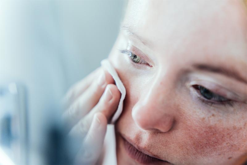 How self-isolating and working from home could be impacting your skin. (Getty Images)