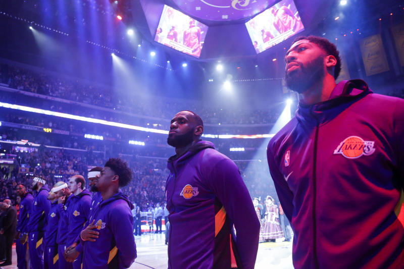 The 11 Los Angeles area professional sports teams are uniting to address social justice. (AP Photo/Ringo H.W. Chiu)