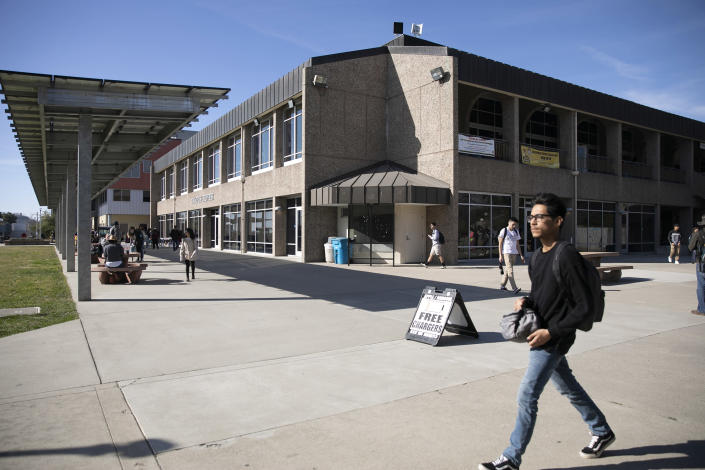 Image: Butte College Campus (Anne Wernikoff / for CalMatters)