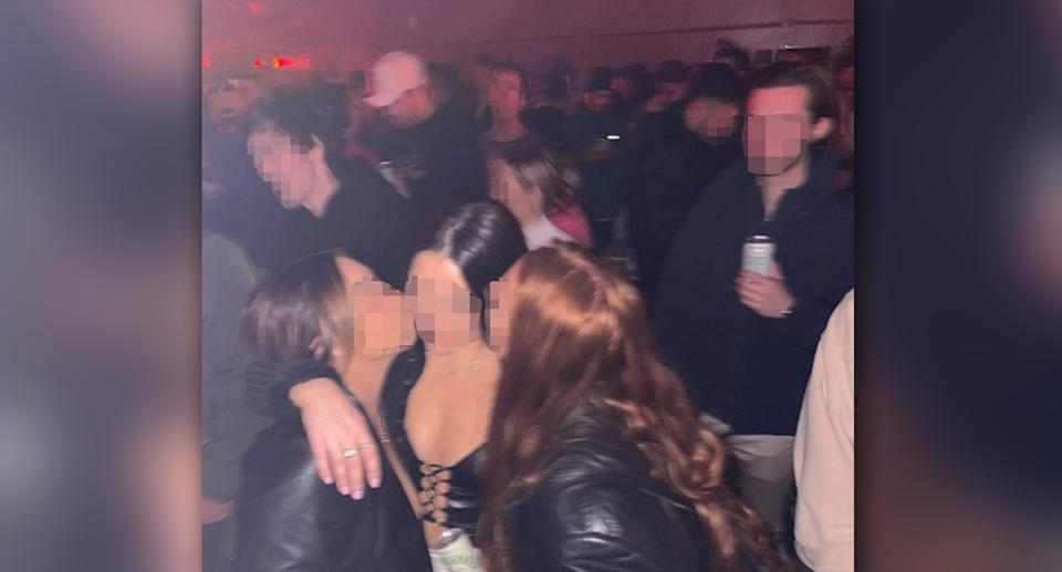 Patrons were pictured in close proximity on Saturday night in several social media posts. Source: Instagram