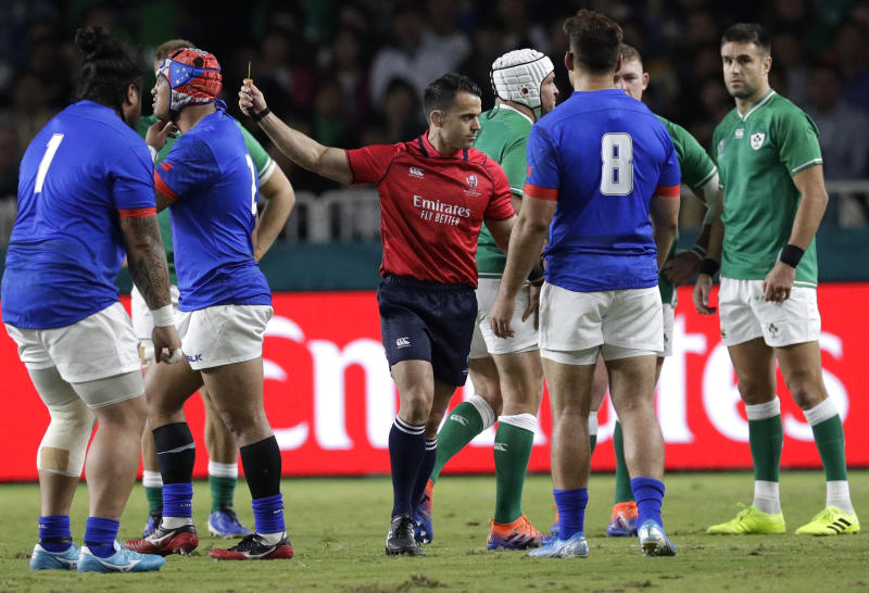 Rugby Ireland reaches RWC quarterfinals with 47-5 win over Samoa