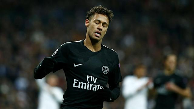 Neymar did not train with his Paris Saint-Germain team-mates on Friday due to illness, with Le Classique just two days away.