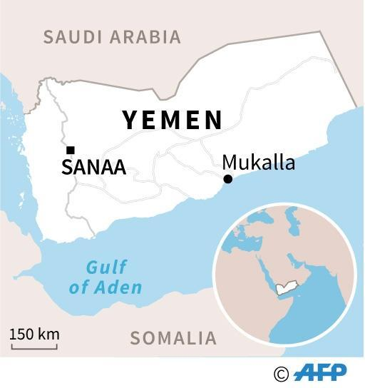Despite heavy bombing, Shiite Huthi rebels still control the capital and much of northern Yemen (AFP Photo/)