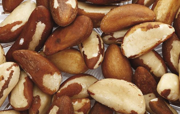 Brazil nuts<br><br>Full of selenium and protein, surprisingly a handful of these will help your immune system fight back.