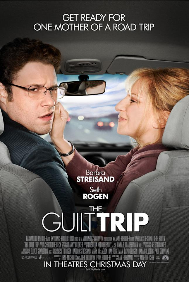 "Seth Rogen and Barbra Streisand star in Paramount Pictures' ""The Guilt Trip"" - 2012"