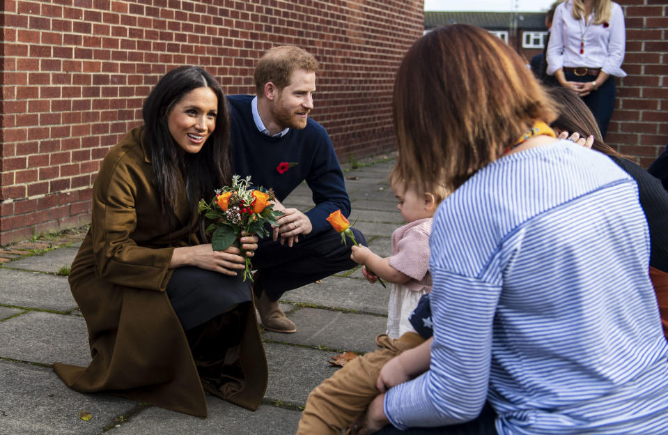 Meghan and Harry have had highs as well as lows (Picture: PA)