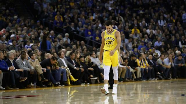 Stephen Curry added to the Golden State Warriors' injury concerns, but Steve Kerr was more concerned by their attitude in defeat.