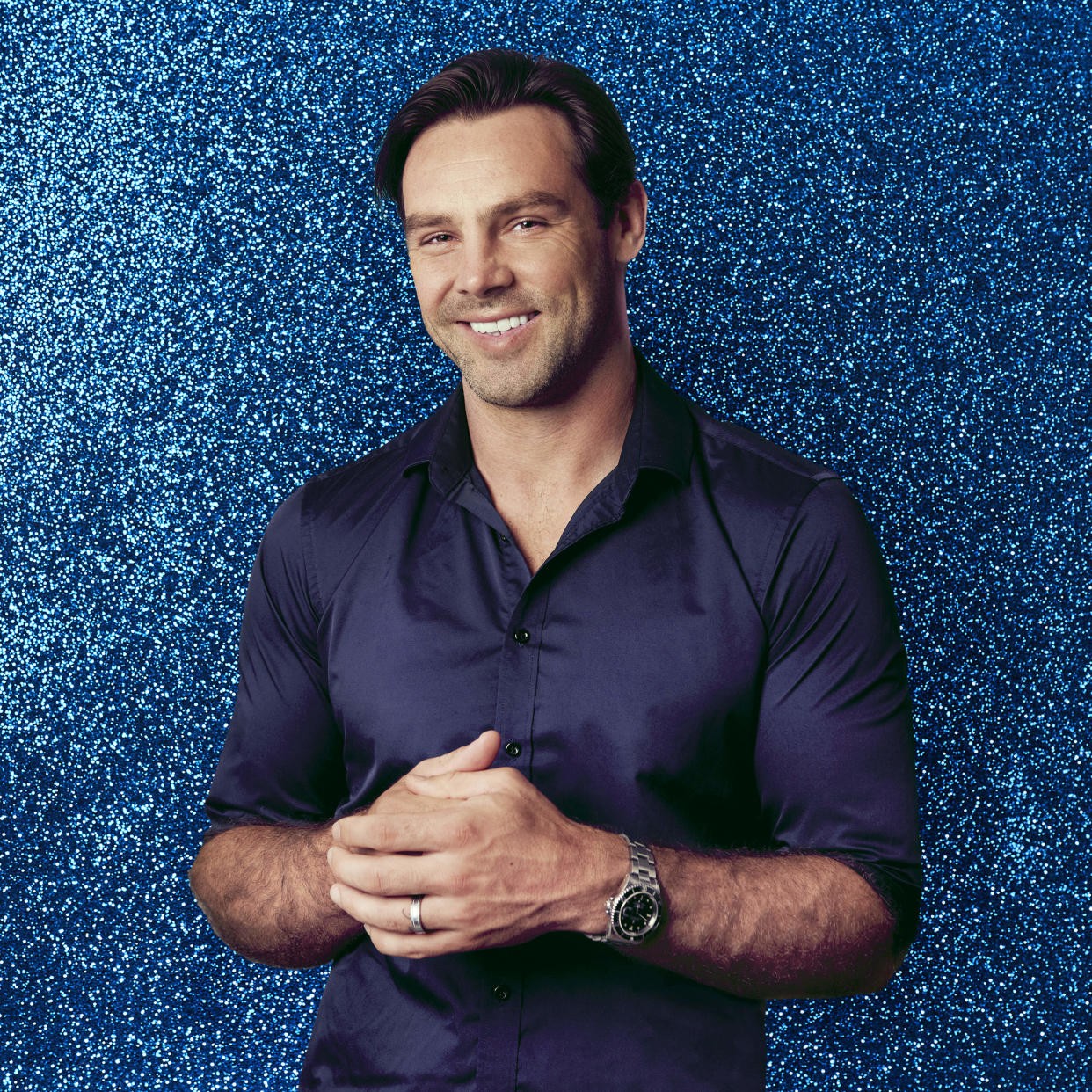 From ITV Studios  Dancing on Ice: SR14 on ITV and ITV Hub  Pictured: Ben Foden.  This photograph is (C) ITV Plc and can only be reproduced for editorial purposes directly in connection with the programme or event mentioned above, or ITV plc. Once made available by ITV plc Picture Desk, this photograph can be reproduced once only up until the transmission [TX] date and no reproduction fee will be charged. Any subsequent usage may incur a fee. This photograph must not be manipulated [excluding basic cropping] in a manner which alters the visual appearance of the person photographed deemed detrimental or inappropriate by ITV plc Picture Desk.  This photograph must not be syndicated to any other company, publication or website, or permanently archived, without the express written permission of ITV Picture Desk. Full Terms and conditions are available on the website www.itv.com/presscentre/itvpictures/terms  For further information please contact: james.hilder@itv.com / 0207 157 3052