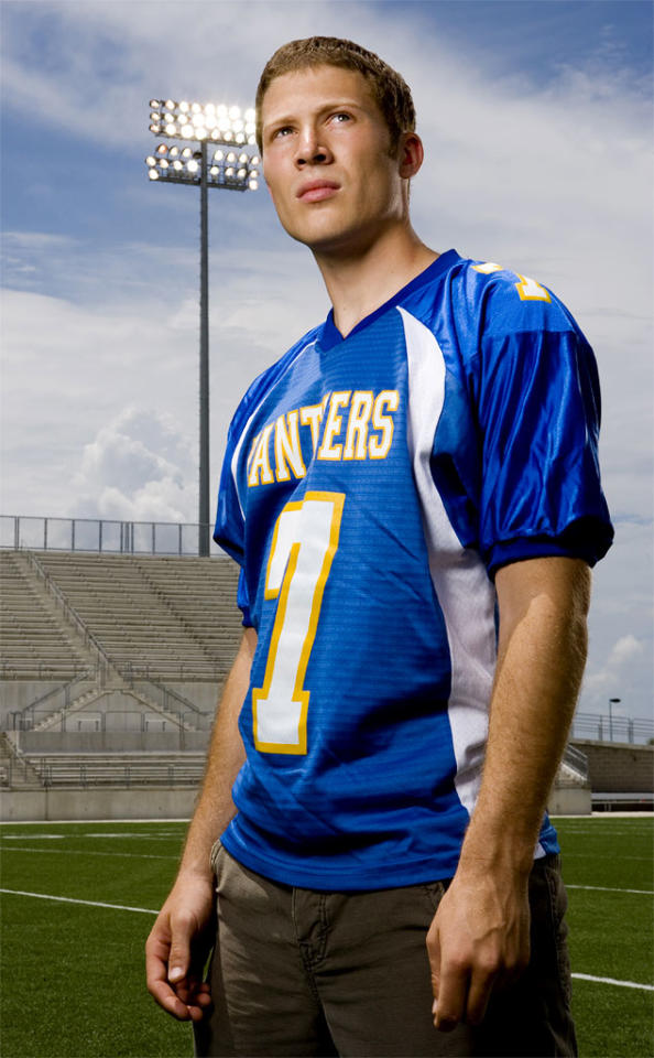 "<a href=""/zach-gilford/contributor/2137572"">Zach Gilford</a> stars as Matt Saracen in <a href=""/friday-night-lights/show/38958"">Friday Night Lights</a> on NBC."