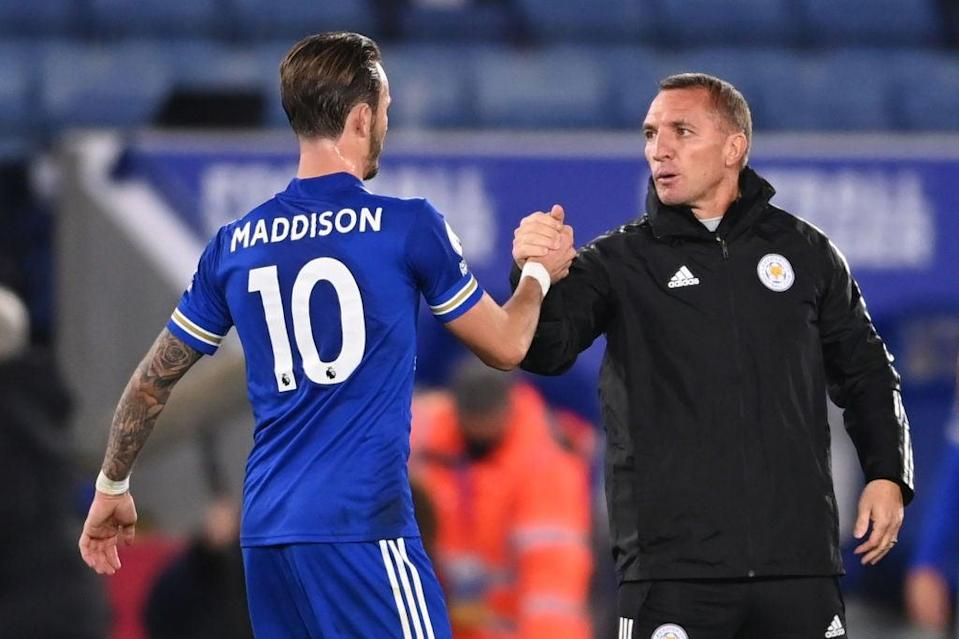 James Maddison will be key to Leicester this season (POOL/AFP via Getty Images)
