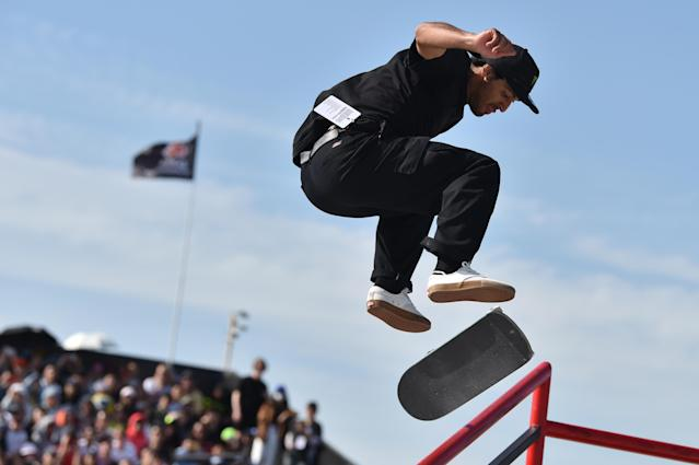 Two varieties of skateboarding will be involved; street and park. (Credit: Getty Images)