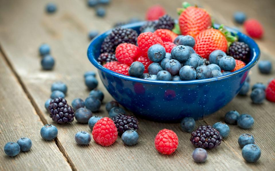 Colourful berries are rich in flavonoids - Getty
