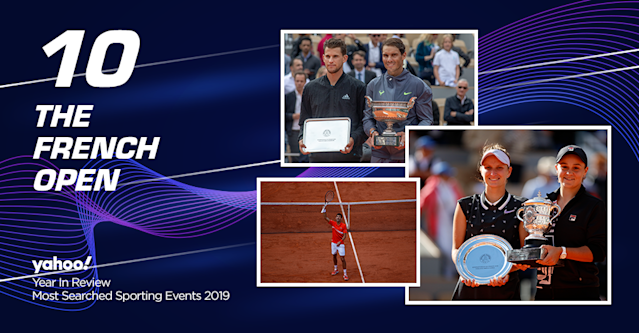 Spaniard Rafael Nadal won a record 12th French Open title after defeating Dominic Thiem in four sets. Ashleigh Barty became the first Australian to win the French Open in 46 years after thrashing Marketa Vondrousova in straight sets that last only 70 minutes.