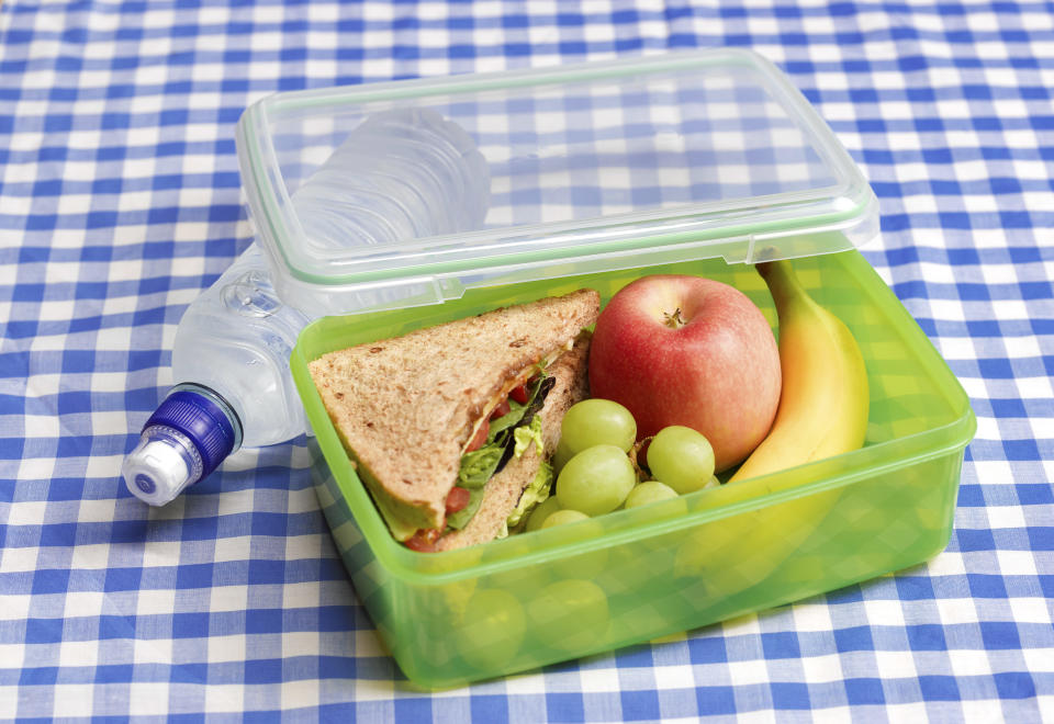 A mum has her frustration after the school requested she come into a meeting about her daughter's lunch. Photo: Getty