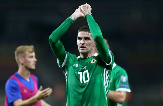 Kyle Lafferty is Northern Ireland's second highest goalscorer, but has not found the net for his country since 2016 (Steven Paston/PA)