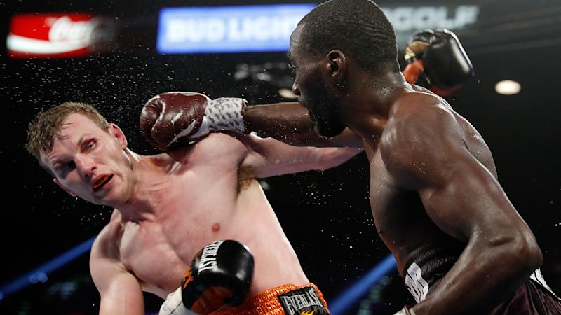 Crawford said the 'excuses' from the Horn camp spurred him on. Pic: Getty